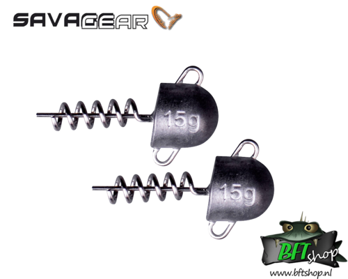 Savage Gear Cork Screw Heads - 3 pack